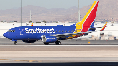 A picture of N798SW - Boeing 7377AD - Southwest Airlines - © Felipe Garcia