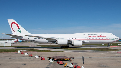 CN-MBH - Boeing 747-8Z5(BBJ) - Morocco - Government