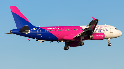 HA-LWH - Airbus A320-232 - Wizz Air