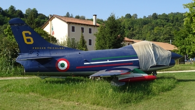 MM6264 - Fiat G91PAN - Italy - Air Force