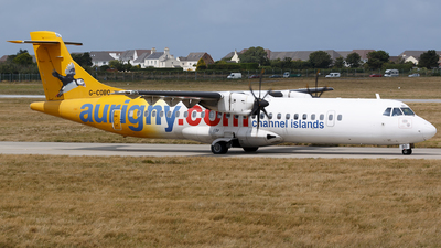 G-COBO - ATR 72-212A(500) - Aurigny Air Services