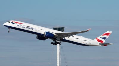 A picture of GXWBB - Airbus A3501041 - British Airways - © Frankie A Said