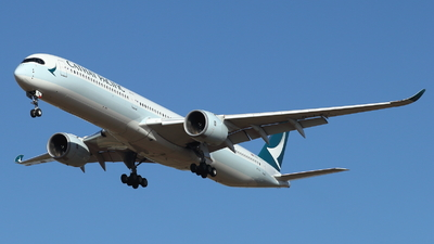 A picture of BLXJ - Airbus A3501041 - Cathay Pacific - © ikeharel