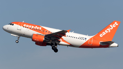G-EZDP - Airbus A319-111 - easyJet