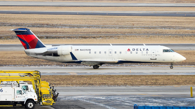 N431SW - Bombardier CRJ-200ER - Delta Connection (SkyWest Airlines)