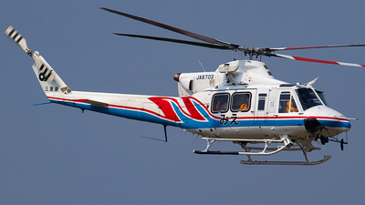 JA6703 - Bell 412HP - Japan - Mie Prefecture