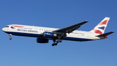 G-BNWI - Boeing 767-336(ER) - British Airways