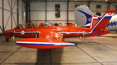 F-GLHF - Fouga CM-170 Magister - Private