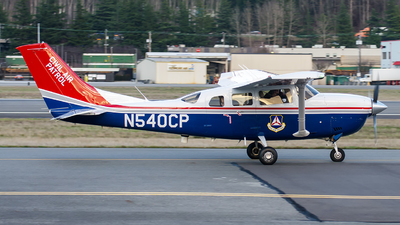 A picture of N540CP - Cessna T206H Turbo Stationair - Civil Air Patrol - © CChuang
