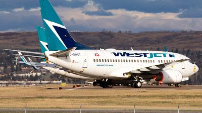 A picture of CGWCT - Boeing 7376CT - [35112] - © Alex Praglowski