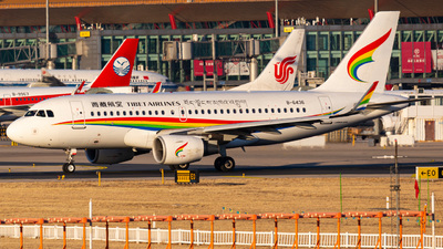 A picture of B6436 - Airbus A319115 - Tibet Airlines - © YINGFEI YU
