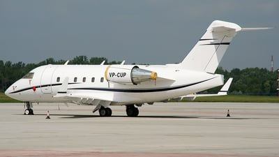 VP-CUP - Bombardier CL-600-2B16 Challenger 604 - Private