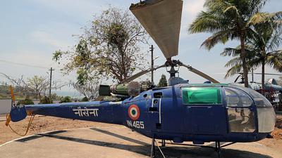 IN465 - Hindustan Aeronautics SA 316B Chetak - India - Navy