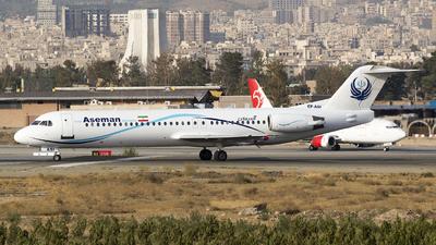 EP-ASI - Fokker 100 - Iran Aseman Airlines