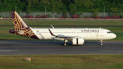 A picture of VTTNU - Airbus A320251N - Vistara - © Jun You