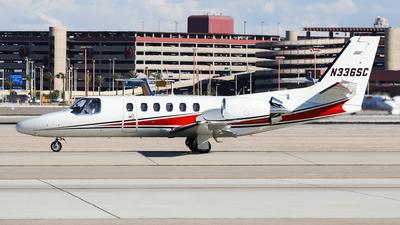 N336SC - Cessna 550B Citation Bravo - Private