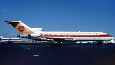 N88710 - Boeing 727-224 - Continental Airlines