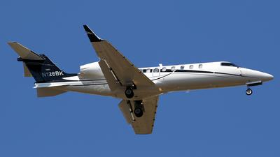 N126BK - Bombardier Learjet 45 - Private