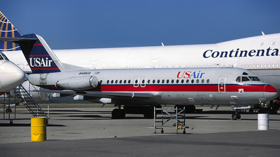 N499US - Fokker F28-4000 Fellowship - USAir
