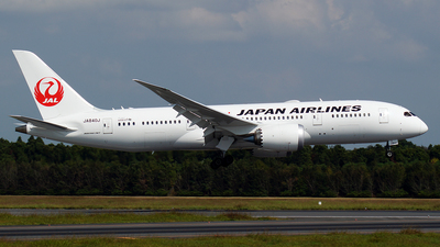 JA840J - Boeing 787-8 Dreamliner - Japan Airlines (JAL)