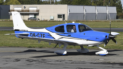 A picture of OKCZE - Cirrus SR22GTS - [4677] - © diopere geert