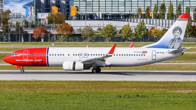 EI-FVL - Boeing 737-8MG - Norwegian