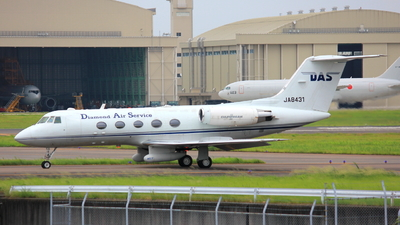 JA8431 - Gulfstream G-II - Diamond Air Service