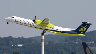 HB-JIJ - Bombardier Dash 8-Q402 - Sky Work Airlines