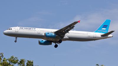 EI-ETJ - Airbus A321-231 - MetroJet