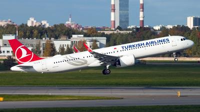 TC-LTG - Airbus A321-271NX - Turkish Airlines