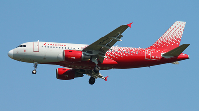 VQ-BAQ - Airbus A319-112 - Rossiya Airlines