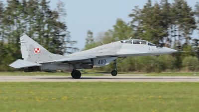 4110 - Mikoyan-Gurevich MiG-29UB Fulcrum B - Poland - Air Force