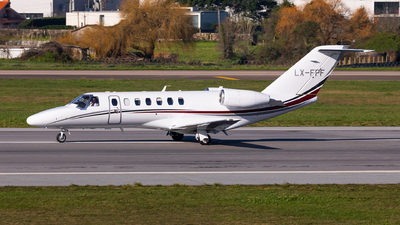 LX-FPF - Cessna 525 Citationjet CJ3 - Private