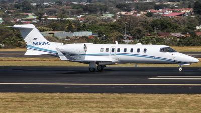 N450FC - Bombardier Learjet 45 - Private