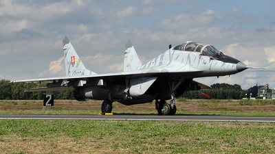 1303 - Mikoyan-Gurevich MiG-29UBS Fulcrum - Slovakia - Air Force