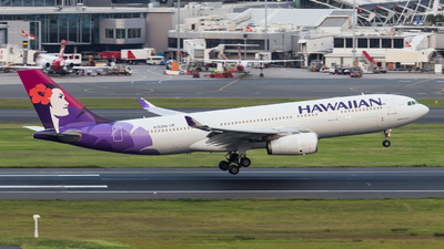 N393HA - Airbus A330-243 - Hawaiian Airlines