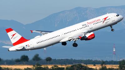 OE-LBC - Airbus A321-111 - Austrian Airlines