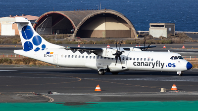 A picture of ECKRY - ATR 72500 - CanaryFly - © William Verguet