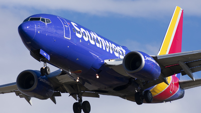 A picture of N405WN - Boeing 7377H4 - Southwest Airlines - © Michael Rodeback