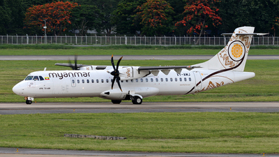 A picture of XYAMJ - ATR 72600 - Myanmar National Airlines - © Ratchapon Pipitsombat