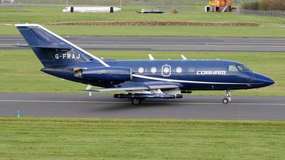 A picture of GFRAJ - Dassault Falcon 20 - Cobham Aviation Services - © Ian Howat