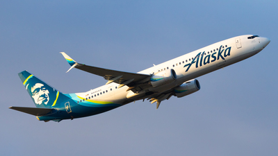 A picture of N495AS - Boeing 737990(ER) - Alaska Airlines - © Sean Asay