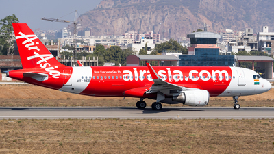 A picture of VTRED - Airbus A320216 - AirAsia - © Rohan Paliwal