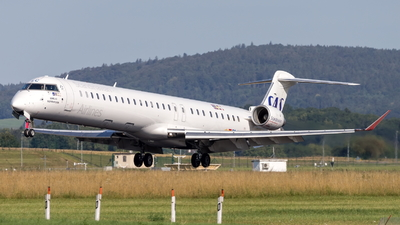 EC-MLC - Bombardier CRJ-1000 - Scandinavian Airlines (SAS) (Air Nostrum)