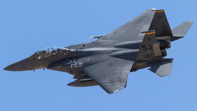 86-0187 - Boeing F-15E Strike Eagle - United States - US Air Force (USAF)