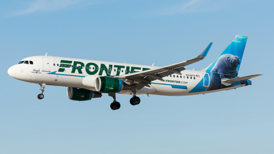 N238FR - Airbus A320-214 - Frontier Airlines