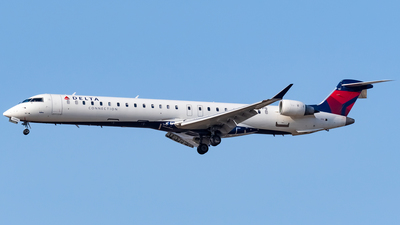 A picture of N187PQ - Mitsubishi CRJ900LR - Delta Air Lines - © Ricky Teteris