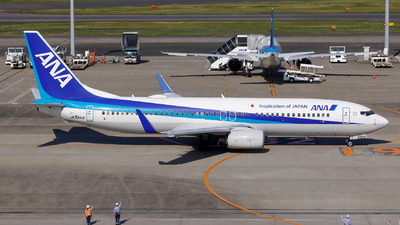 A picture of JA52AN - Boeing 737881 - All Nippon Airways - © Resupe