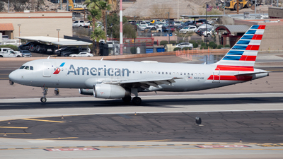 A picture of N601AW - Airbus A320232 - American Airlines - © John Marzo