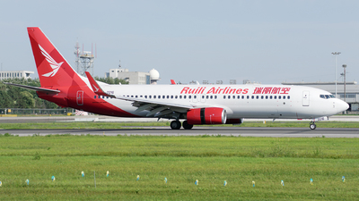 B-221G - Boeing 737-84P - Ruili Airlines